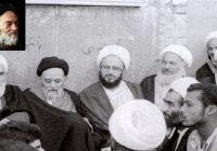 حجه الاسلام دکتر محسن زاده عکس مکارم و علامه طبلاطبایی