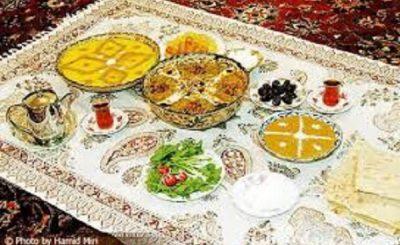 اداب سفره،برترین خوراکی و بهترین سفره،آداب غذا خوردن
